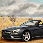 La classe di Mercedes-Benz SL Roadster Fashion Film Autumn/Winter 2012