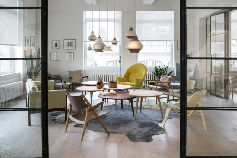 CARL HANSEN & SØN APRE UN NUOVO SHOWROOM A NEW YORK