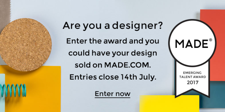 Call per il premio Emerging Talent di MADE.COM