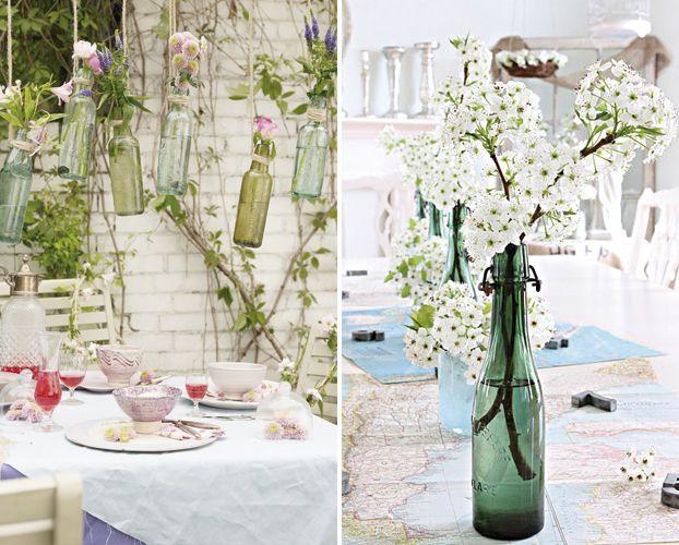 Come decorare la vostra casa con le piante home for Decorare stanza shabby